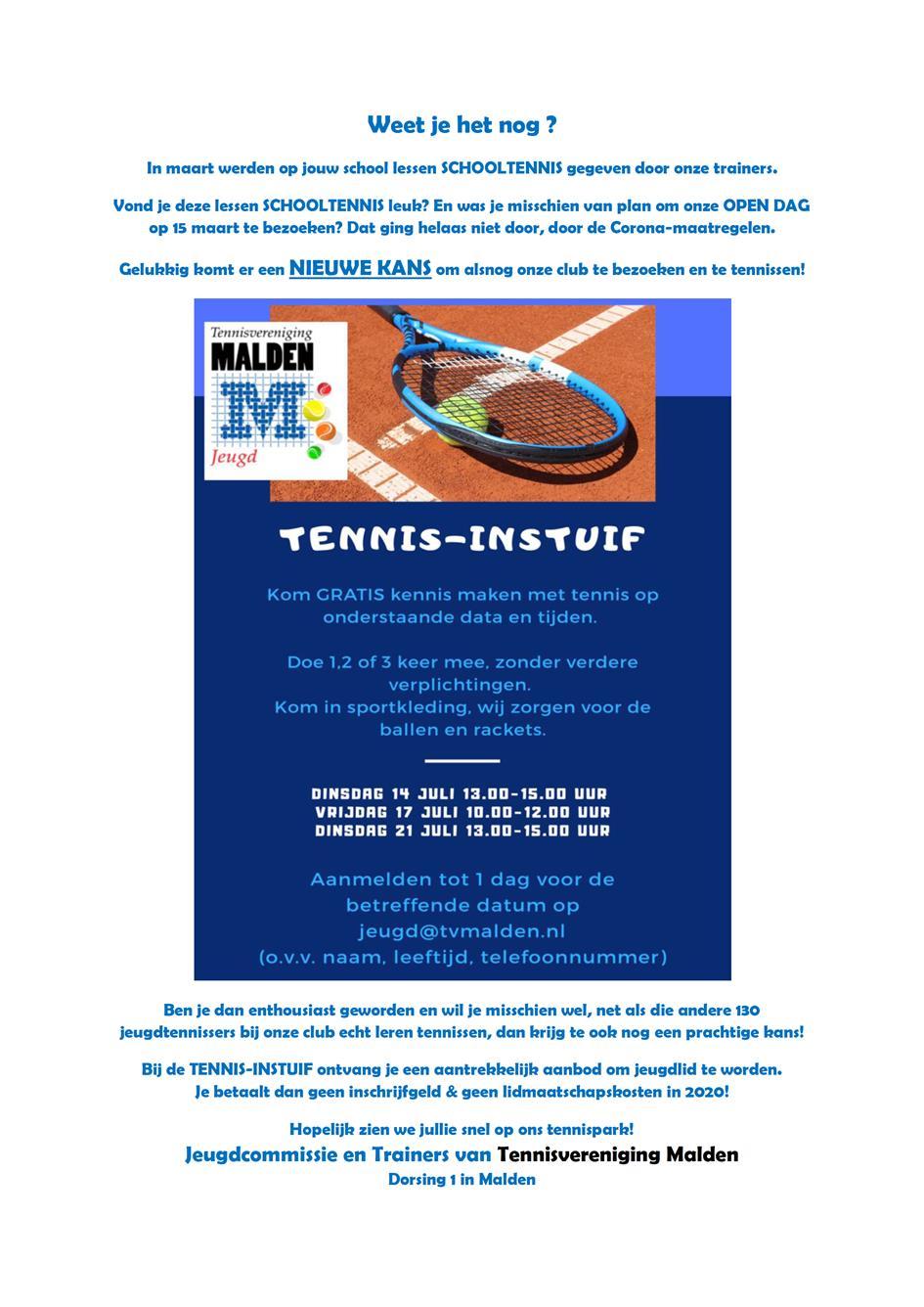 Tennis-Instuif TVMalden tijdens zomervakantie.png