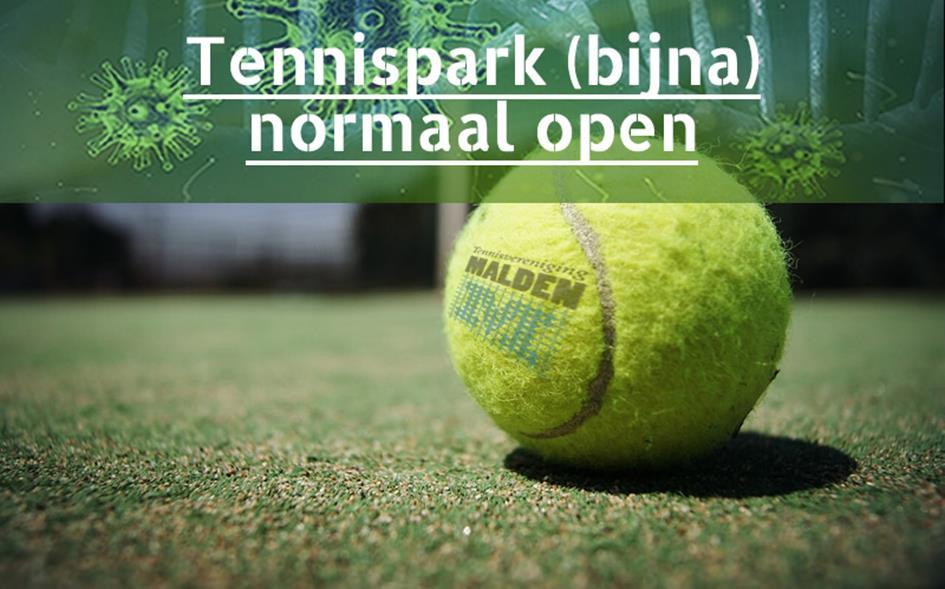 Tennispark bijna normaal open.jpg