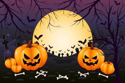 1331273-horror-en-spookachtige-paarse-kerkhof-halloween-achtergrond-gratis-vector.jpg